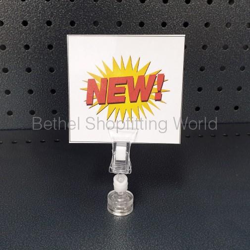 Magnetic Pop Clip For Steel Shelf