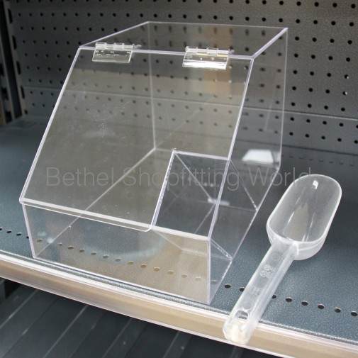 Acrylic Nut Lolly Dispenser With Scoop