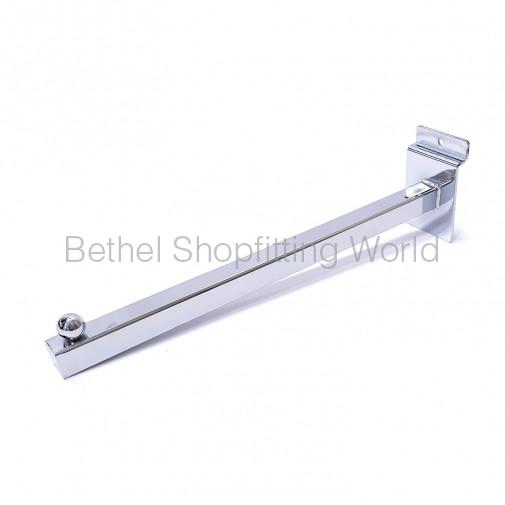 SW107 300mm Slat Panel Square Straight 1 Ball Arm