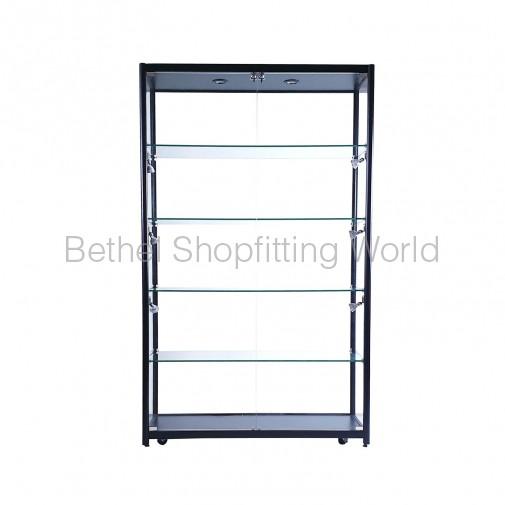 LED Glass Display  Showcases Cabinet  1200MM (Black)