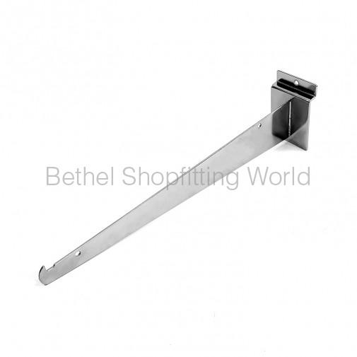 SW101 Slat Panel Straight Bracket With Stopper Hook