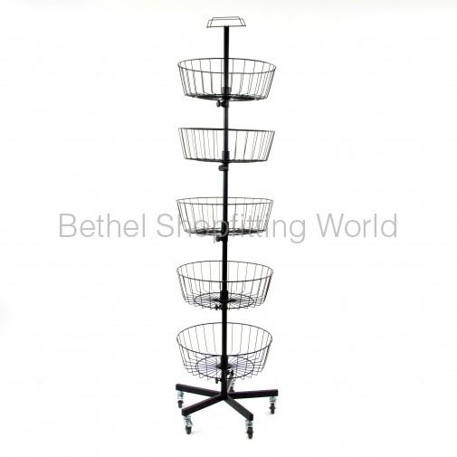 SG-C12 Floor Basket Stand