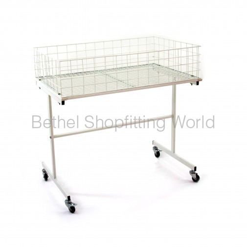 SG-C07 Merchandise Table  White - 900mm