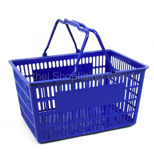 Plastic Handle Basket - Large Size