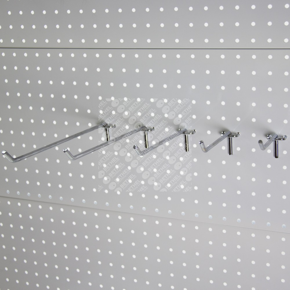 Single Prong Pegboard Hooks (Pack of 10)