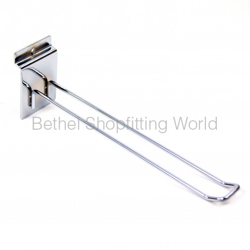 SW102-150mm  Loop Chrome Slat Panel Hooks