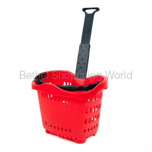Heavy Duty Trolley Basket 55L
