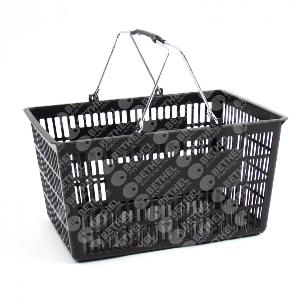 Chrome Handle Basket - Large Size (pack of 5)