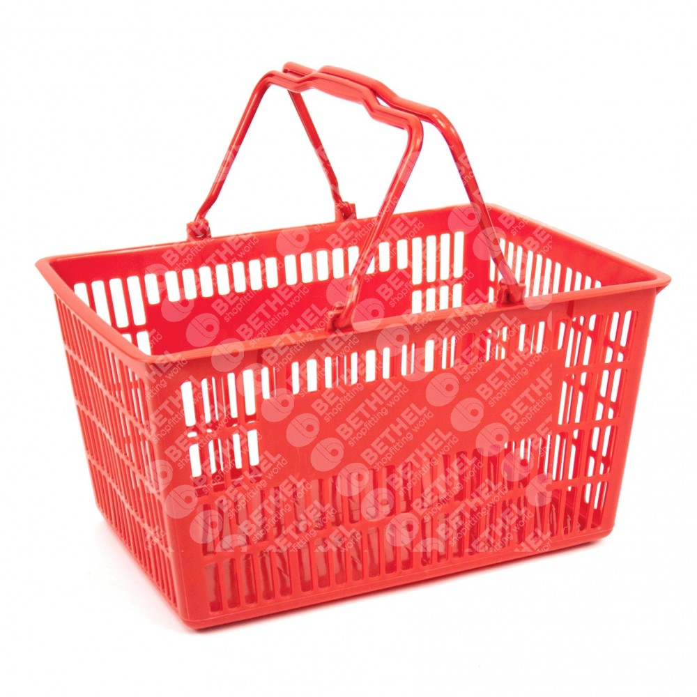 Plastic Handle Basket - Small Size