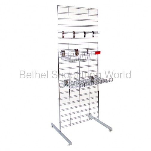 Double Sided Grid Mesh Stand