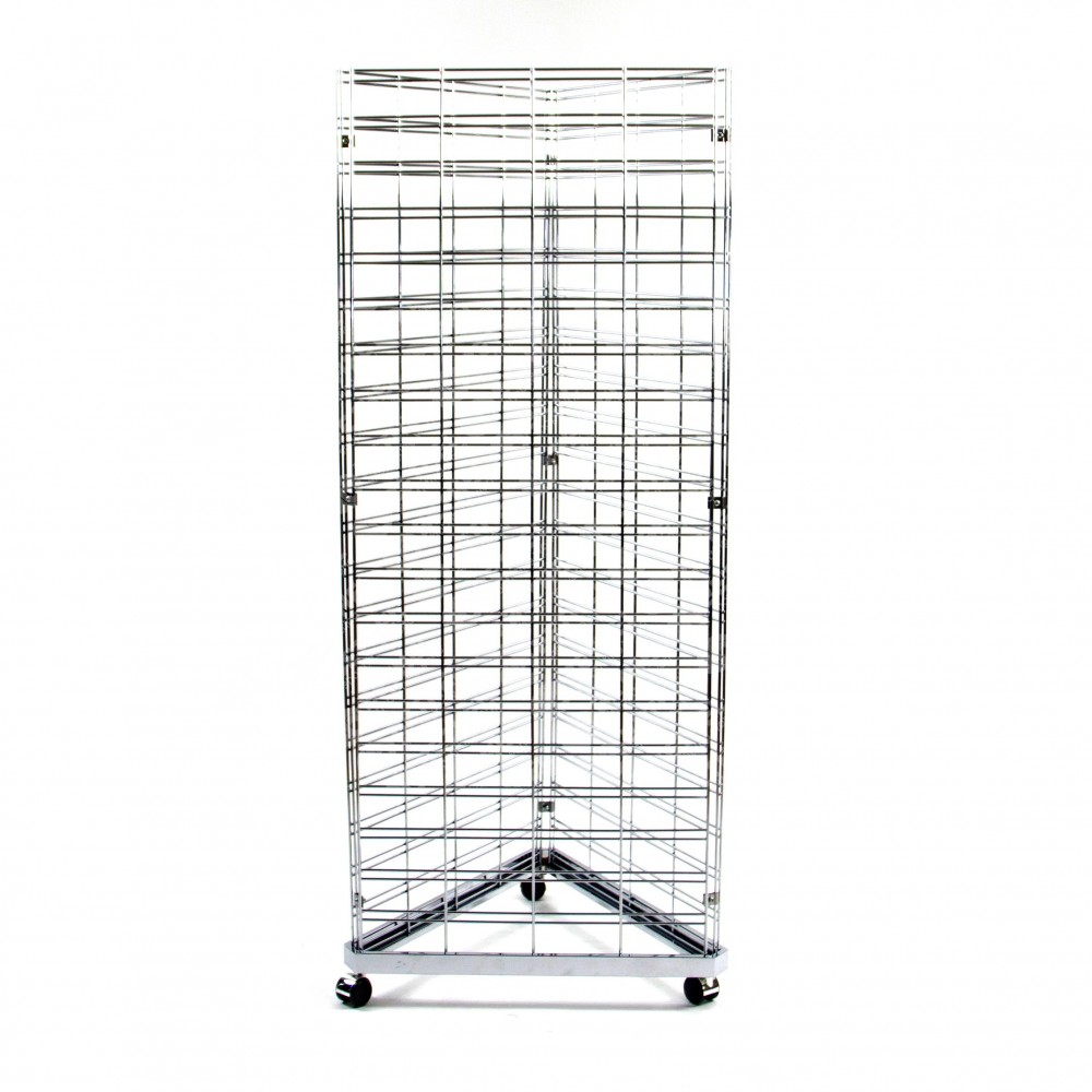 3 Way Grid Mesh Stand with Base