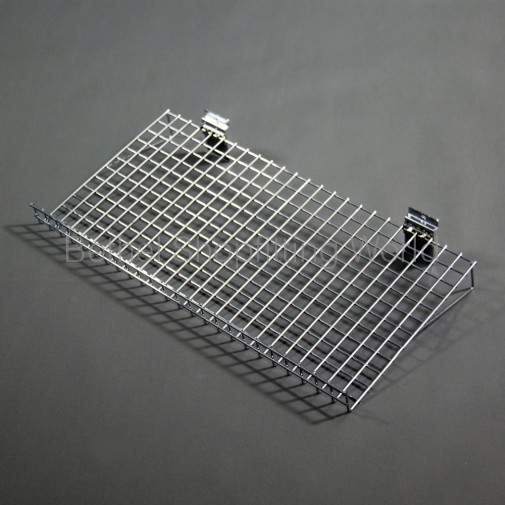 SW-CA600mm Slat Panel Chrome Angle Wire Shelf