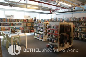 Games Shop Slat Wall Glass Showcases Counters 02