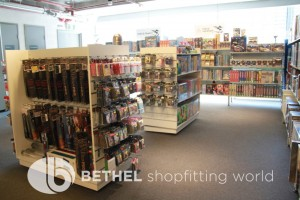Games Shop Slat Wall Glass Showcases Counters 09