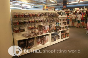 Games Shop Slat Wall Glass Showcases Counters 16