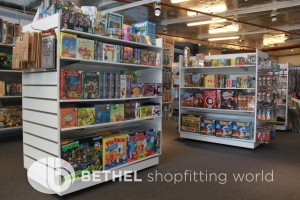 Games Shop Slat Wall Glass Showcases Counters 18