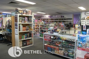Games Shop Slat Wall Glass Showcases Counters 20