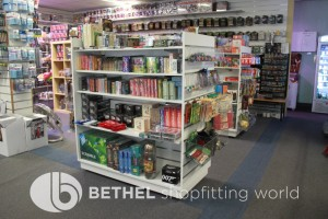 Games Shop Slat Wall Glass Showcases Counters 23