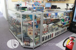 Games Shop Slat Wall Glass Showcases Counters 26