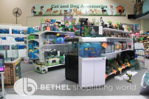 Pet Aquarium Shelving Shopfitting Racking a