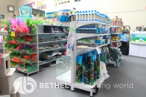 Pet Aquarium Shelving Shopfitting Racking e