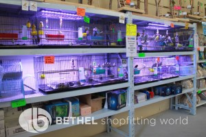 Pet Aquarium Shelving Shopfitting Racking x
