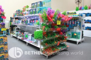 Pet Aquarium Shelving Shopfitting Racking s