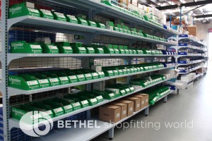 Electrical Hardware Shelving Shopfitting Fixture 11