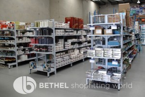 Electrical Hardware Shelving Shopfitting Fixture 02