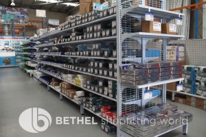 Electrical Hardware Shelving Shopfitting Fixture 03