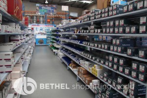 Electrical Hardware Shelving Shopfitting Fixture 04
