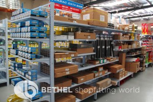 Electrical Hardware Shelving Shopfitting Fixture 05