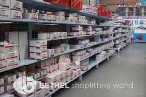 Electrical Hardware Shelving Shopfitting Fixture 06