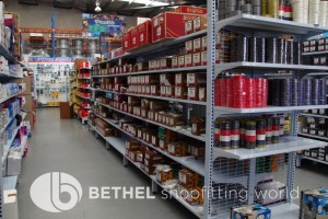 Electrical Hardware Shelving Shopfitting Fixture 07