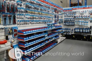 Electrical Hardware Shelving Shopfitting Fixture 08
