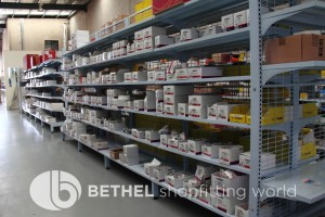 Electrical Hardware Shelving Shopfitting Fixture 10