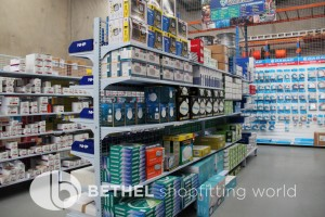 Electrical Hardware Shelving Shopfitting Fixture 13
