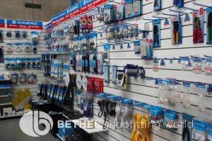Electrical Hardware Shelving Shopfitting Fixture 15