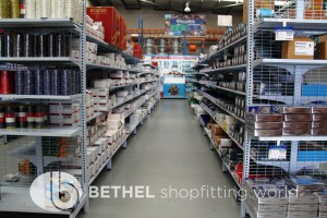 Electrical Hardware Shelving Shopfitting Fixture 16