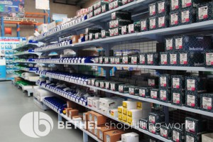 Electrical Hardware Shelving Shopfitting Fixture 17