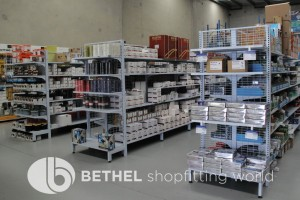 Electrical Hardware Shelving Shopfitting Fixture 18