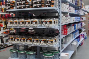 Electrical Hardware Shelving Shopfitting Fixture a