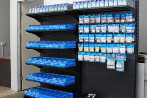 Service Counters Shelving Display Cabinetc