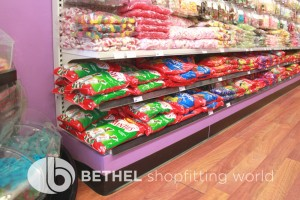 Confectionery Candy Shop Shelving Shopfitting 06
