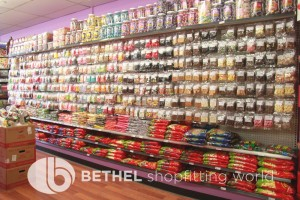Confectionery Candy Shop Shelving Shopfitting 10
