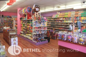 Confectionery Candy Shop Shelving Shopfitting 17
