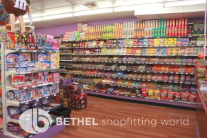 Confectionery Candy Shop Shelving Shopfitting 18
