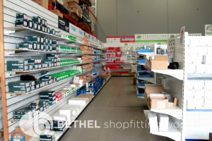 Pegboard Shelving Slat Panel Display Shopfitting 1