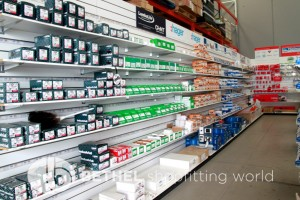 Pegboard Shelving Slat Panel Display Shopfitting 2