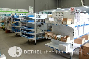 Pegboard Shelving Slat Panel Display Shopfitting 3